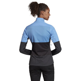 adidas TERREX Xperior Light Jacket Women real blue/carbon